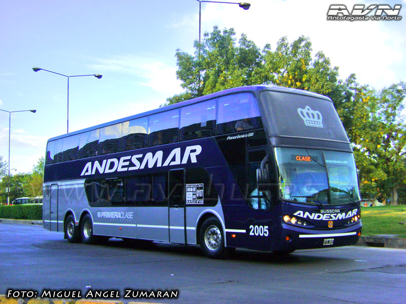 Busscar Panoramico DD - Volvo / Andesmar